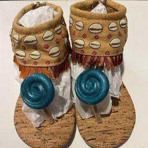 Disney Moana Sandal Child SZ. 7/8